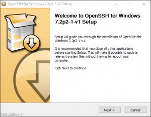 فعال کردن ssh در ویندوز ۱۰