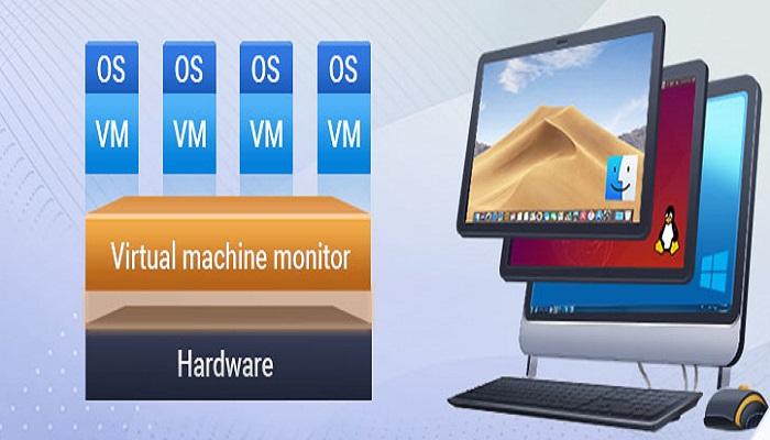 کاربردهای ماشین مجازی